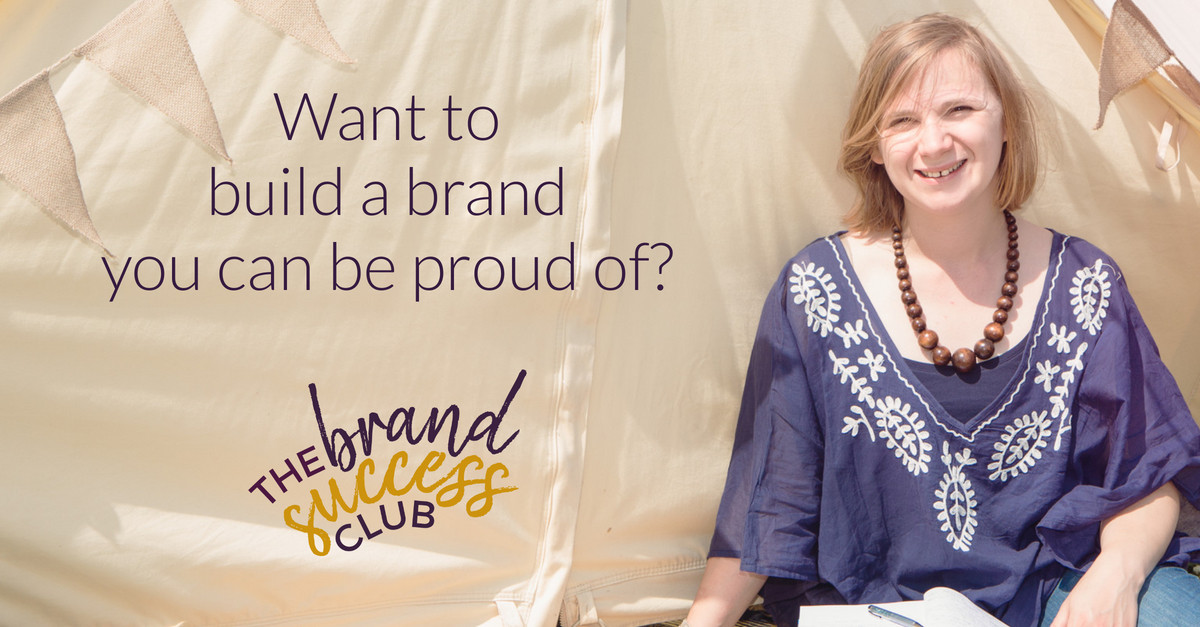 Want to build a brand you can be proud of?